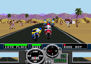 3-in-1: Road Rash,  Ms. Pac-Man,  Block Out