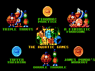 Aquatic Games: Starring James Pond, The