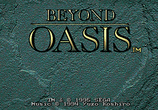 Beyond Oasis (The Story of Thor: A Successor of The Light)