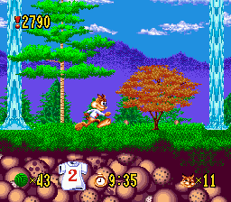 Bubsy in Claws Encounters of the Furred Kind
