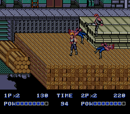 Double Dragon 2:  The Revenge