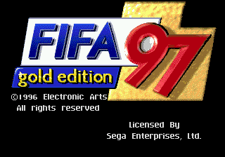 FIFA Soccer 97 Gold Edition