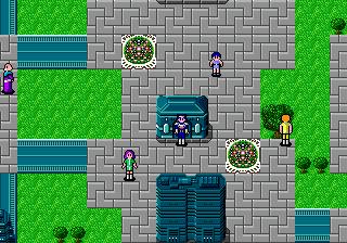 Вселенная Phantasy Star на Sega
