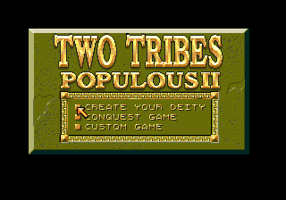 Populous II: Two Tribes