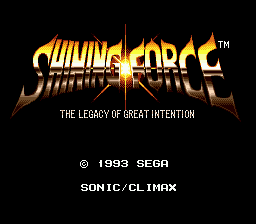 Shining Force 1, 2