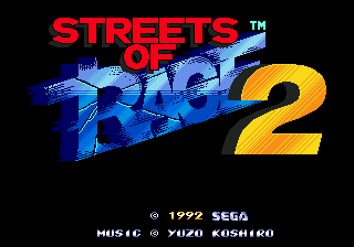 Streets of Rage 2 (Bare Knuckle 2) (Прохождение)