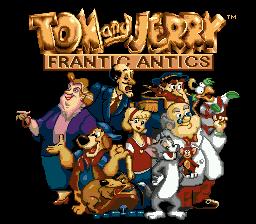 Tom & Jerry Frantic Antics