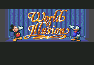 World of Illusion Starring Mickey Mouse & Donald Duck (Прохождение)