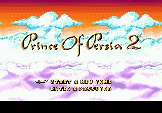 Prince of Persia 2 на SMD