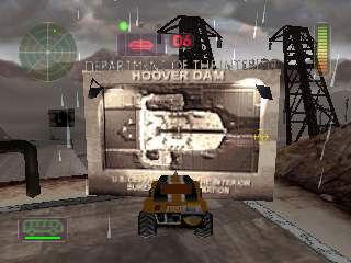 Vigilante 8: карта локации Hoover Dam