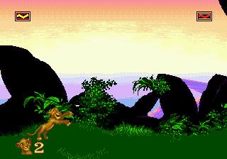 Simba поймал бабочку