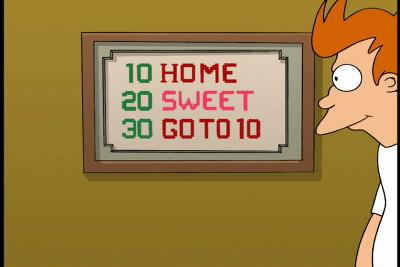 Basic и PASCAL в Futurama