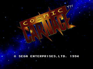 Cosmic Carnage