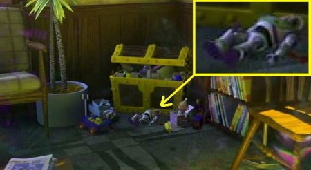 Toy Story в Finding NEMO