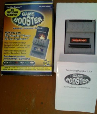 Game Booster - GB2PSX