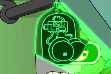 Про Dendy не забыли даже в мультсериале Futurama.