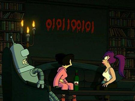 Магия бинарных чисел в Futurama