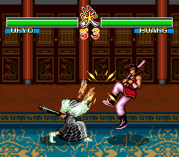 Soul Edge VS Samurai Spirits
