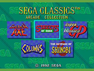 Sega Classics Arcade Collection 5-in-1