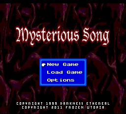 Релиз долгостроя Mysterious Song для TurboGrafx 16 Super CD