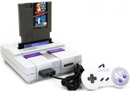 Теперь можно играть в NES на SNES