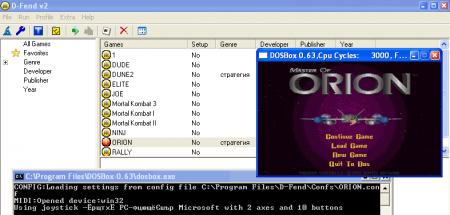 DOSBOX 0.62