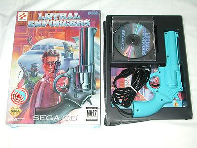 Игры SEGA MegaDrive и Mega CD, поддерживающие пистолет Konami Justifier