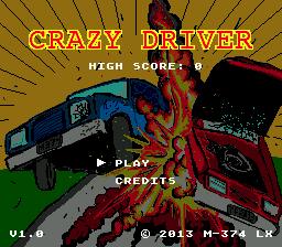 Новая игра Crazy Driver: Genesis для Sega MegaDrive