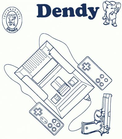 Руководство по эксплуатации игровой приставки Dendy