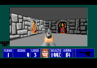 Demo Wolfenstein 3D для SEGA CD / Mega CD