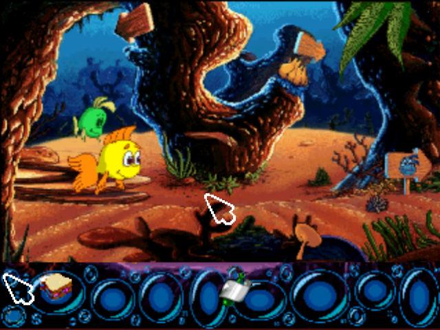 Видео игра рыбка фредди
