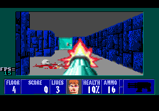 Wolfenstein 3D для SMD новые уровни