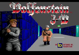 Wolfenstein 3D для SMD почти готовые враги