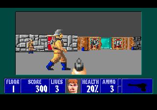 Wolfenstein 3D SMD, враги ожили!