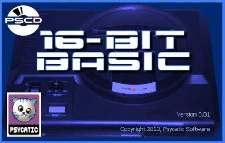 16-bit Basic Новый Бейсик для создания Sega MegaDrive / Genesis игр
