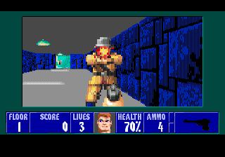 Новое демо Wolfenstein 3D для Sega Genesis