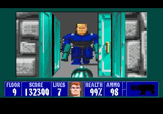 Завершён первый эпизод в игре Wolfenstein 3D для SMD