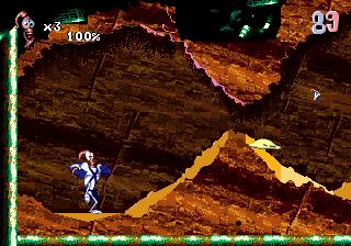 Подозрительно похожие уровни в играх Earthworm Jim 2 и Vectorman 2