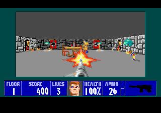 Новые возможности в Wolfenstein 3D для Sega Genesis