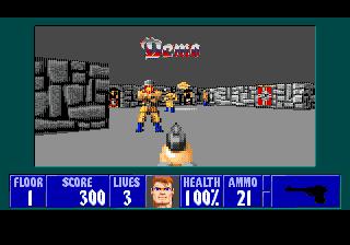 Обновление Wolfenstein 3D для Sega Mega Drive