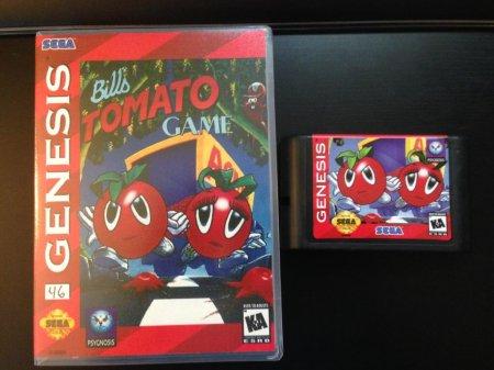 Игра Bill's Tomato Game выйдет на картриджах для SMD