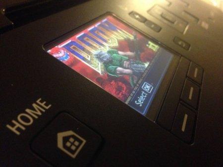 Хакеры запустили Doom на принтере