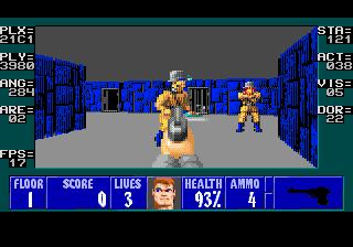 Обновление Wolfenstein 3D для Sega Genesis