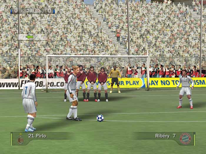 На данный момент вышло три официальных патча для FIFA 08 Патч 1. Там вылезе