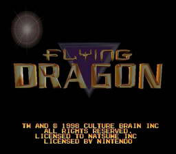 Flying Dragon (Virtual Hiryu no Ken 64)