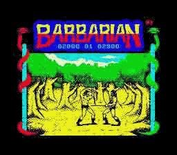 Barbarian 1,2 [ZX]