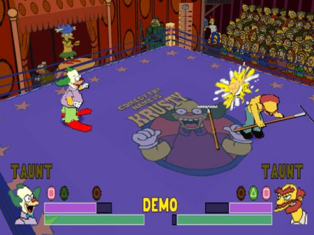 Simpsons Wrestling, The