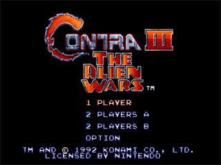 Contra 3: Alien Wars — Оригинал