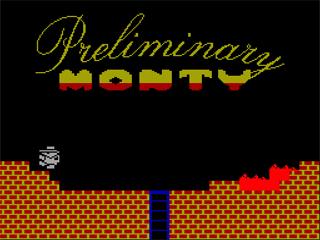 Интервью с создателем ZX-версии игры «Preliminary Monty» Андреем Жигловым