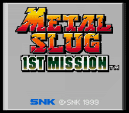 Metal Slug - 1st Mission
